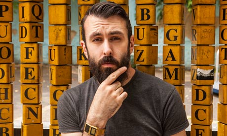 Scroobius Pip photographed for the Observer by Antonio Olmos.