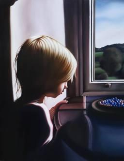 Dora in The Window At Allen Bank